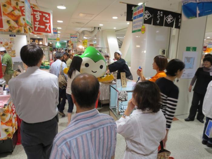 松坂屋名古屋店で、山口県の物産と観光をPR!
