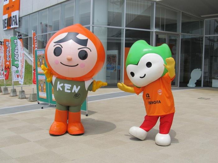 スペシャルサポーターとして、レノファ山口FCを応援!