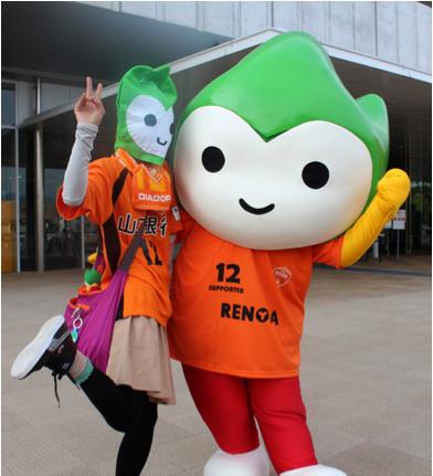 レノファ山口FCのホーム最終戦を応援しに行ったよ!!