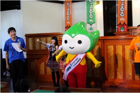 「ゆるキャラ(R)グランプリ2013」の出陣式をしたよ!!