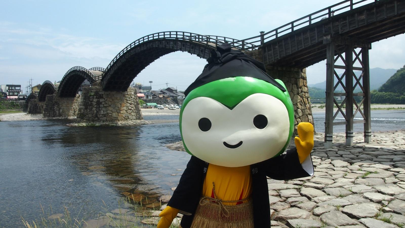 まるで時代絵巻☆彡「錦帯橋のう飼」を見に行ってきたよ