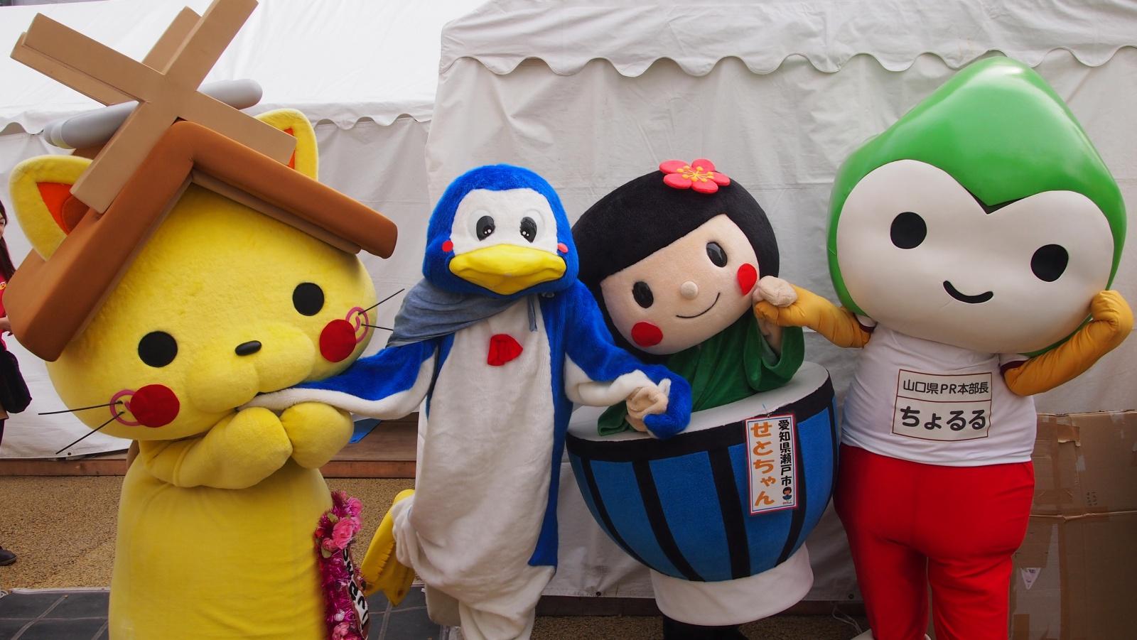 くまモンファン感謝祭で、たくさんのおともだちに会ったよ☆彡