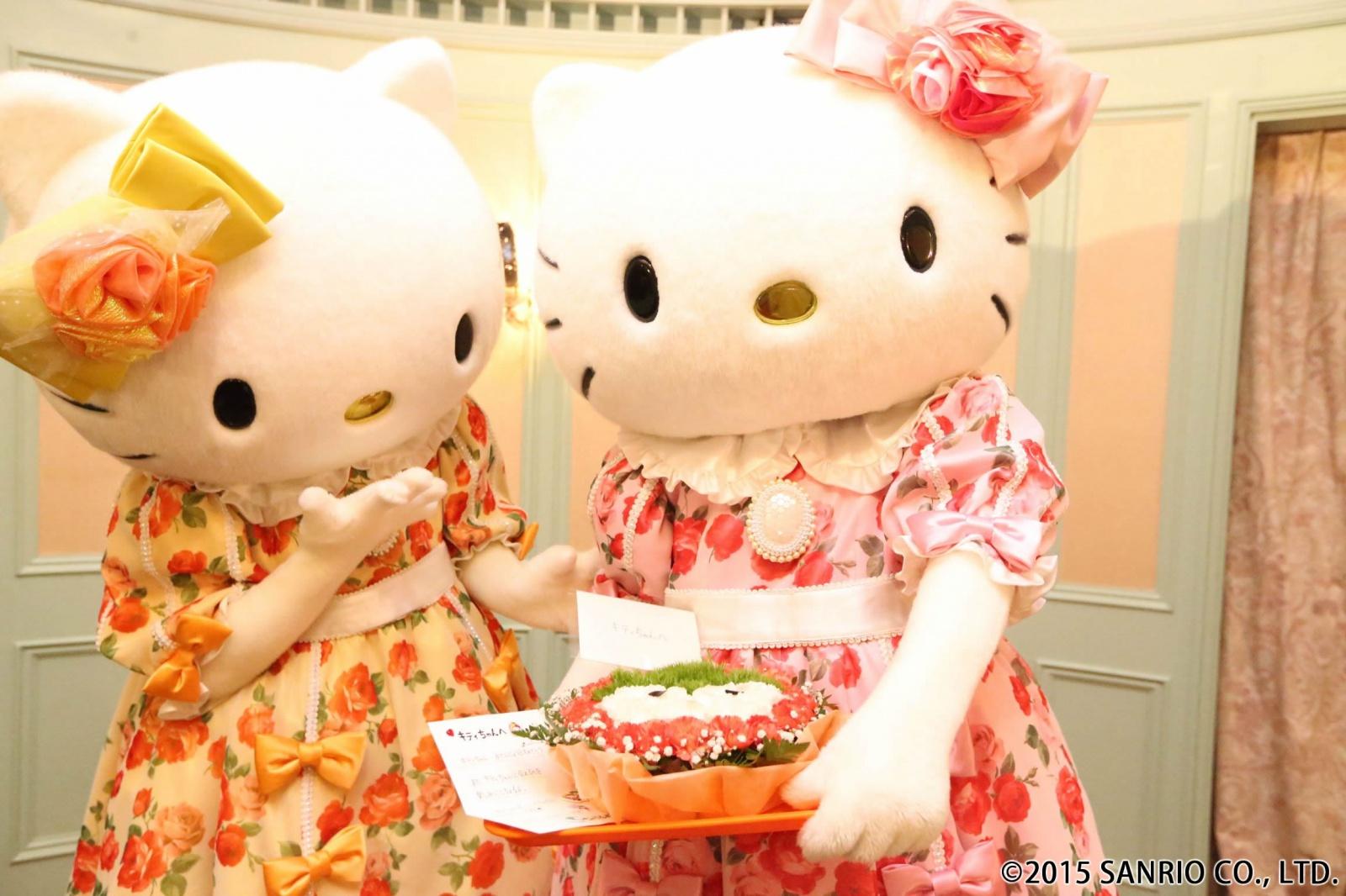 今年もキティちゃんのお誕生日をお祝いしたよ☆彡