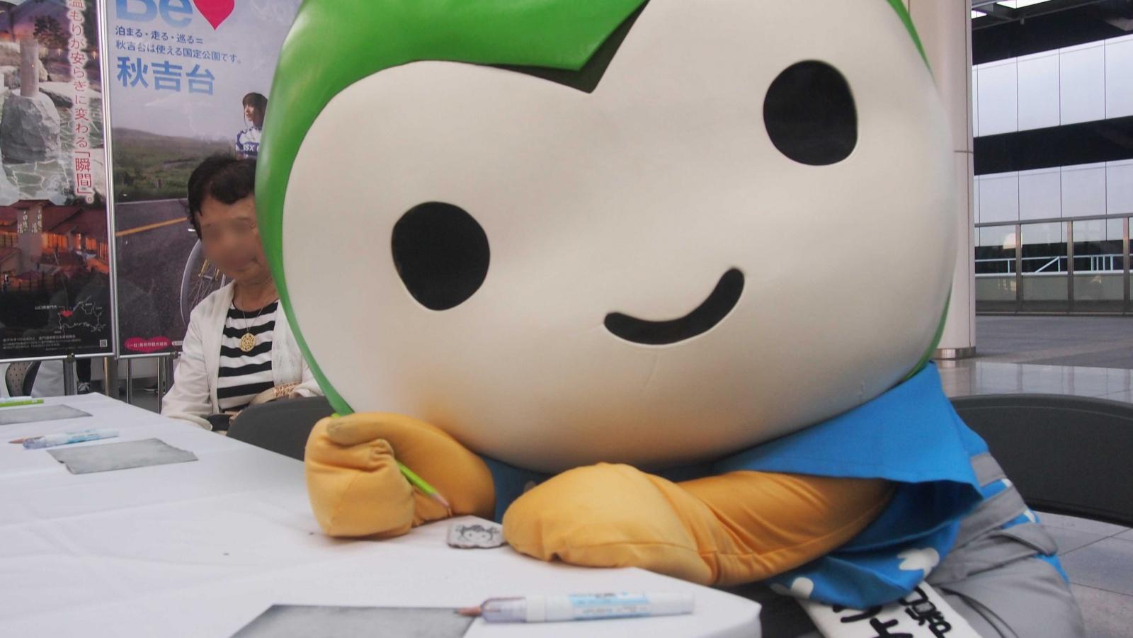 大阪でデスティネーションキャンペーンのPRをしてきたよ!!